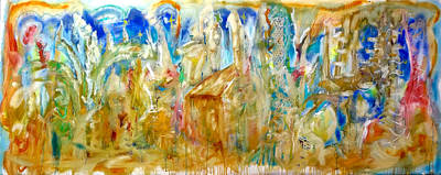 Suenos De Espana Poster by Contemporary Art By PEARSE