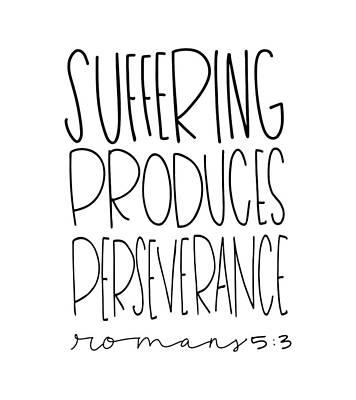 Suffering Poster by Nancy Ingersoll