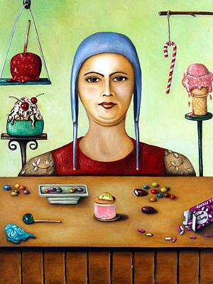 Sugar Addict Poster by Leah Saulnier The Painting Maniac