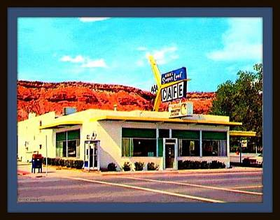 Sugar Loaf Cafe, St. George Ut, 1955 Poster by Dwight GOSS