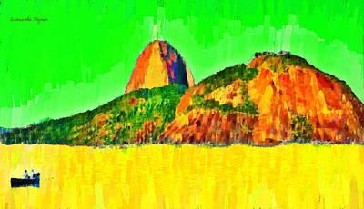 Sugarloaf Of Rio 3 - Da Poster