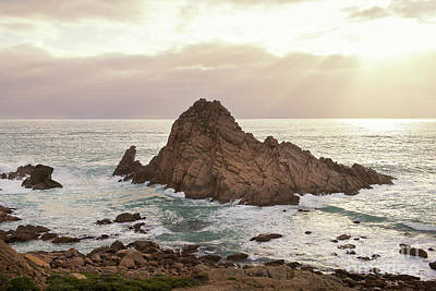 Poster featuring the photograph Sugarloaf Rock Sunset by Ivy Ho