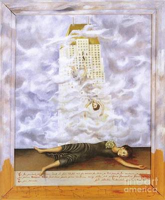 Suicide Of Dorothy Hale Poster by Frida Kahlo
