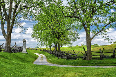 Poster featuring the photograph Summer At Antietam National Battlefield by Lori Coleman