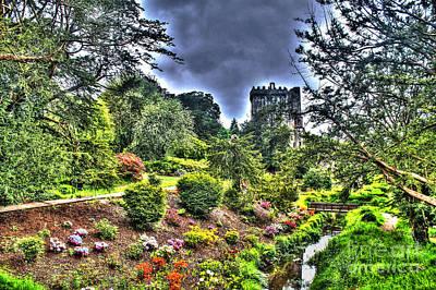 Summer Blarney Garden Poster