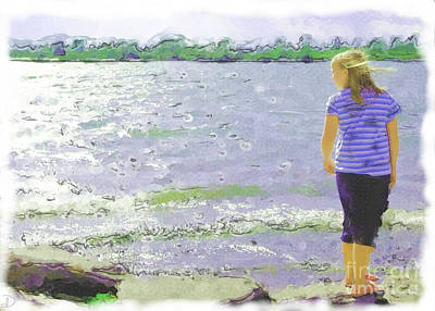 Poster featuring the photograph Summer Breeze by Debi Dmytryshyn