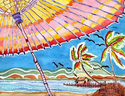 Summer Breezes Poster by Connie Valasco