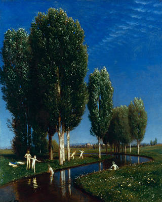 Summer Day  Poster by Arnold Bocklin