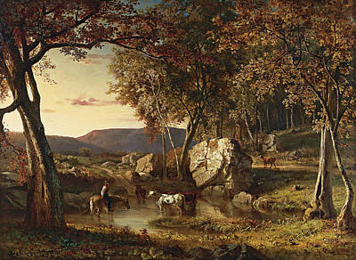 Summer Days Poster by George Inness