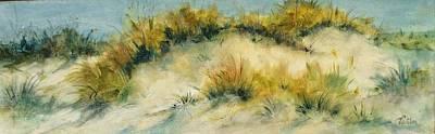 Summer Dunes Poster