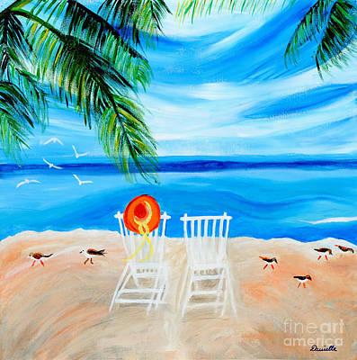 Summer Feelings Poster by Art by Danielle