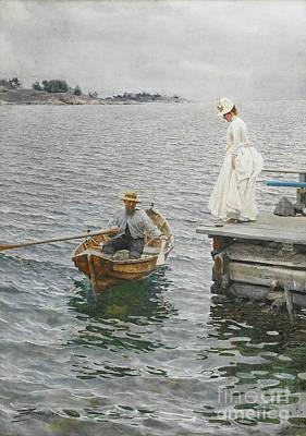 Summer Ferry 1886 Poster