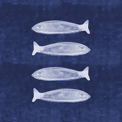 Summer Fish- Art By Linda Woods Poster