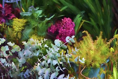 Summer Garden 4 Poster by Bonnie Bruno