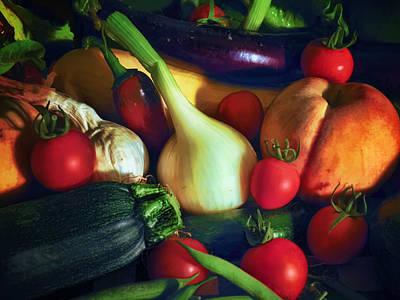 Summer Harvest Poster by Karl Fritz