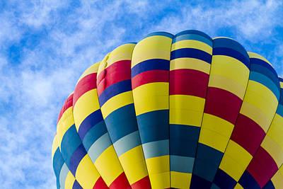 Summer Hot Air Balloon Fun Poster by Teri Virbickis