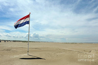 Summer In Holland - A Day At The Beach Poster
