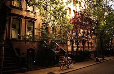 Summer In New York City - Greenwich Village Poster by Vivienne Gucwa