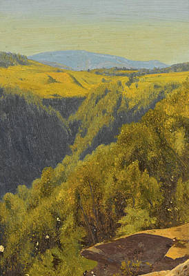Summer In The Hills Poster by Jervis McEntee