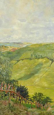 Summer Landscape Poster by Max Klinger