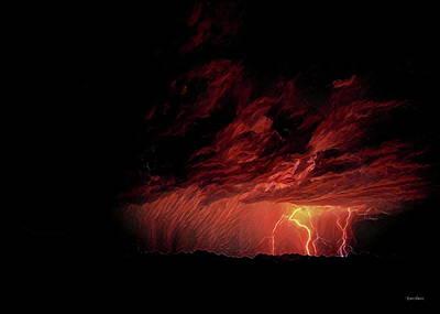 Summer Lightning Poster