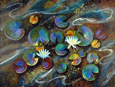 Summer Lillies Poster