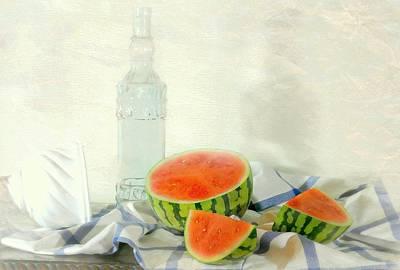 Summer Melon Poster