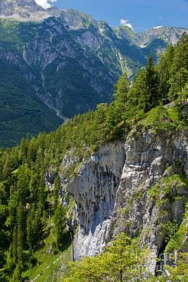 Summer Mountains In Austria Poster by Hideaki Sakurai