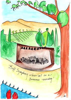 Summer On Britt Hill Poster