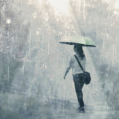 Poster featuring the photograph Summer Rain by LemonArt Photography