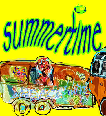Summer Roadtrips Fun  Poster
