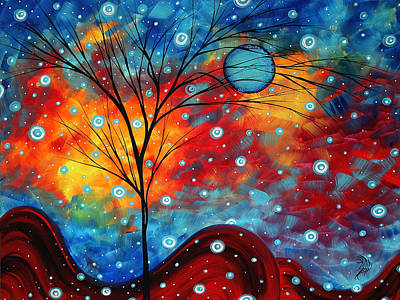 Summer Snow By Madart Poster by Megan Duncanson