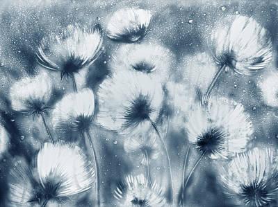 Summer Snow Poster by Elena Vedernikova