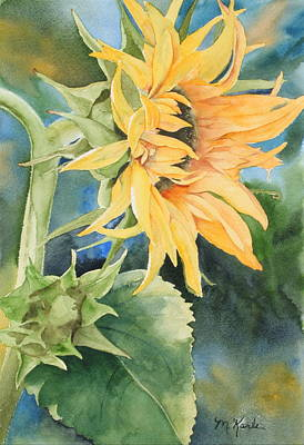 Summer Sunflower Poster