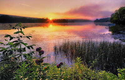 Summer Sunrise Poster by Bill Wakeley