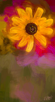 Summer Sunshine - Painting 2 By Fleblanc Poster by F Leblanc