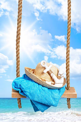 Summer Swing Poster by Amanda Elwell