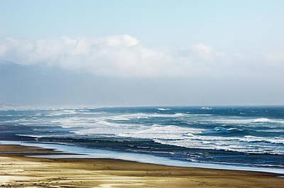 Summer Waves Netarts Oregon Poster