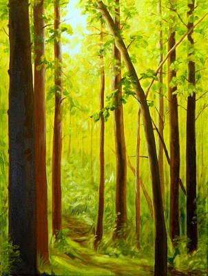 Summer Woods Poster