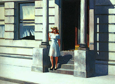 Summertime  Poster by Edward Hopper