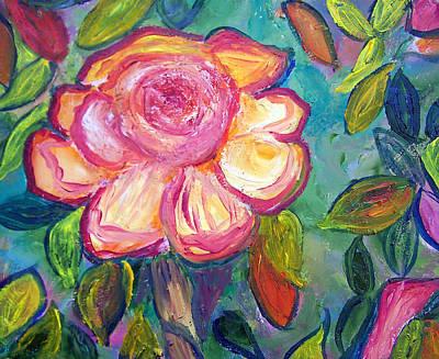 Summertime Flower Poster