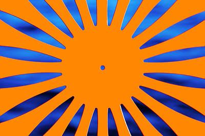Sun Burst Poster by Todd Klassy