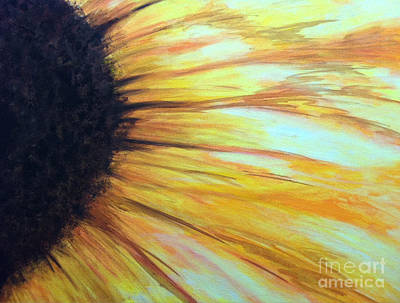 Sun Flower Poster by Sheron Petrie