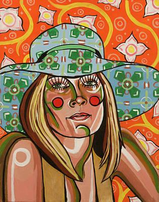 Sun Hat Poster