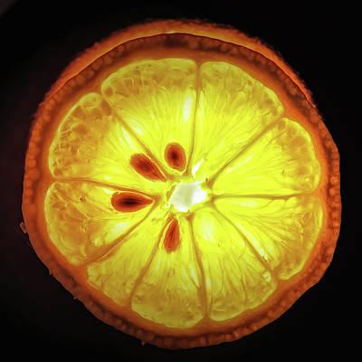 Sun Lemon Poster