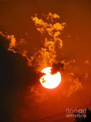 Sun On Fire Poster
