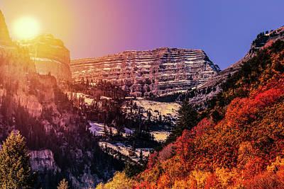 Sun On The Mountain Poster