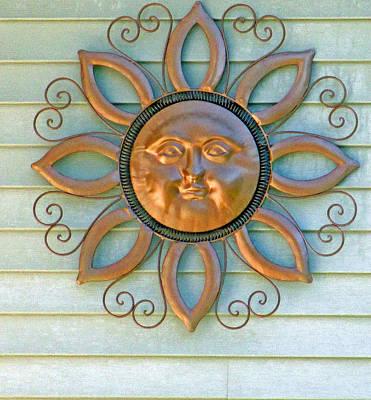 Sun Ornament Poster