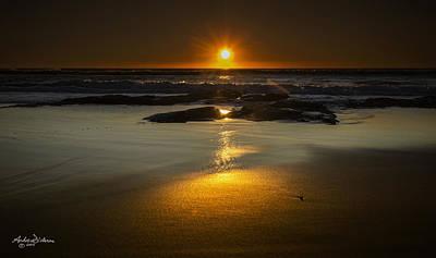 Sun Reflection Poster