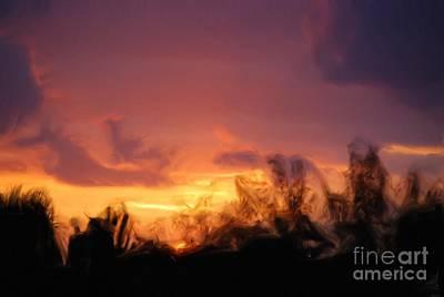 Sun Set Poster by Jan Daniels